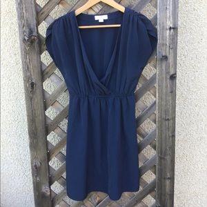 Forever 21 pretty blue summer dress v neck